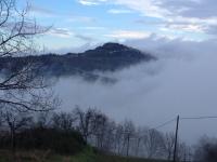 De Marken, Italië, Blaauw Tekst